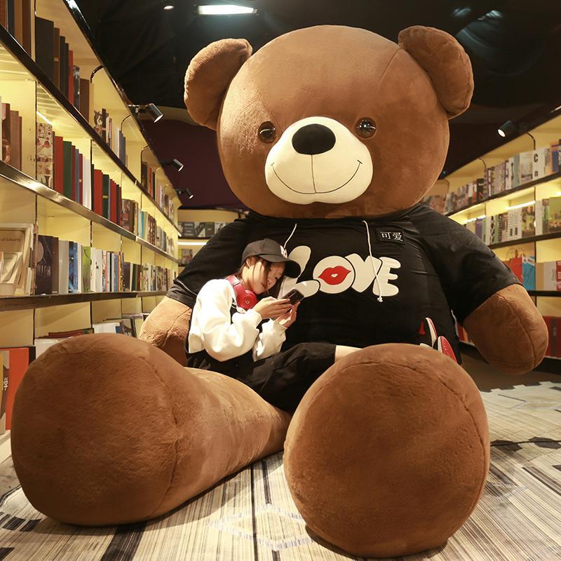 Teddy Đáng Yêu Nhung Lông Con Gái Đồ Chơi Gấu Ôm Búp Bê