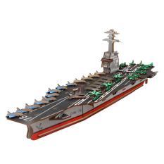 Đồ chơi lắp ráp gỗ 3D Mô hình Tàu Sân bay The USS Gerald R Ford Laser – Mô hình Tàu | Thuyền buồm | Đồ chơi trẻ em | Đồ chơi lắp ghép | Đồ chơi thông minh