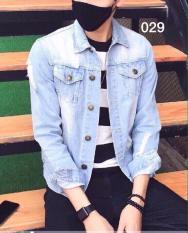 Áo khoác jean nam thời trang lazada ms029