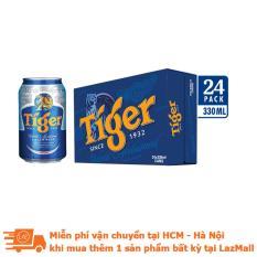 [Siêu thị Lazada] – Thùng 24 lon bia Tiger 330ml
