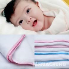 Khăn tắm vải xô Kim Ngân 3 lớp dày dặn, mềm mại, thấm hút tốt cho bé