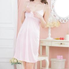 váy ngủ 2 dây phối ren gợi cảm nhiều màu