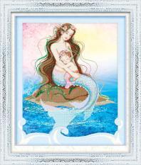 V095 Tranh gắn đá the mother's love