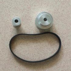 Bộ buly dây đai 16-40 răng lỗ 5mm và dây đai 200mm