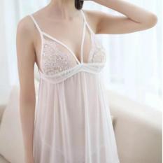 A7 Đầm váy ngủ ren Hàn Quốc