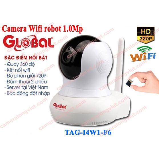 Camera IP robot không dây Global TAG – I4W1-F6