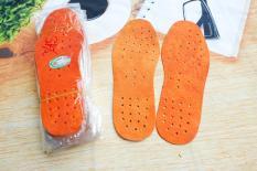 Miếng lót giày da thật 100% HoaMy lotda1