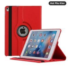 [HCM]Bao da dành cho iPad Air / Air 2 / 9.7 2017 / 2018 xoay 360 độ chống bụi chấm thấm tiện lợi (Đen) – Phân phối bới HotPhuKien