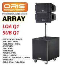 LOA ARRAY ORIS Q1 PRO-CÔNG SUẤT 2400W