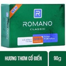 Combo 3 hộp Xà bông cục Romano Classic hộp 90g/hộp – hương nước hoa classic