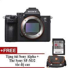 Sony Alpha A7 mark III Body tặng túi Alpha và thẻ nhớ tốc độ cao