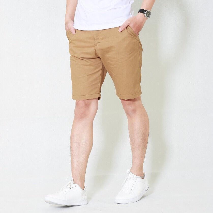 Quần short kaki chino nam hàng đẹp màu be ( có 4 màu)