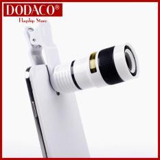 Ống lens chụp hình điện thoại kiêm ống nhòm đa năng DODACO DDC2067 (Nhiều màu)