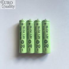 Giá Tốt Bộ 4 viên pin sạc AAA 700mAh niken-cadmium + tặng bộ sạc USB – Best Mart Euro Tại Best Mart Euro