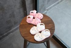 Sandal hoa Rất Xinh Cho Bé Gái Từ 0-5 Tuổi ( Có Video Quay Thật)