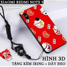 Bảng Giá [14 mẫu] Ốp lưng dùng cho Xiaomi Redmi Note 5 Pro Hình 3D (H) kèm iRing + dây đeo – Nhựa TPU dẻo Tại Phụ kiện Mi