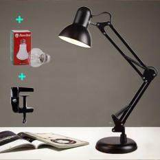 Đèn bàn pixar có đế tự đứng , đèn để bàn, đèn học chống cận kèm bóng và kẹp bàn loại xịn 2 in1