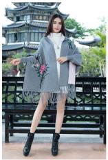 Áo choàng len thêu Quảng Châu