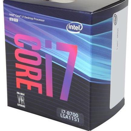 Bảng Giá CPU Intel Core i7 8700 3.2Ghz Turbo Up to 4.6Ghz / 12MB / 6 Cores, 12 Threads / Socket 1151 v2 (Coffee Lake ) Tại HOTGEAR.VN