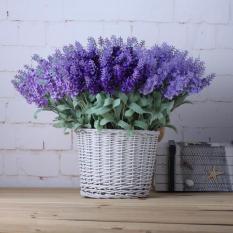 Bó 5 chùm hoa giả hoa nhựa Oải hương – HPMFlowerPlastic