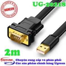 Cáp USB to COM DB9 RS232 2M UGREEN 20218
