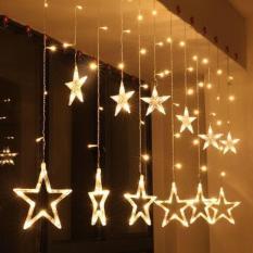Đèn thả rèm 12 ngôi sao lớn bé