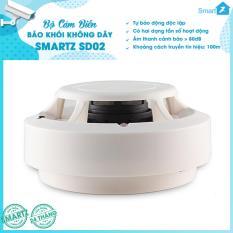 Cảm biến báo khói không dây SmartZ SD02 – HÃNG PHÂN PHỐI ĐỘC QUYỀN