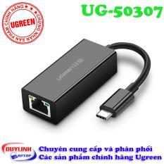 Cáp USB Type C to Lan tốc độ Gigabit – Adapter USB C Ugreen