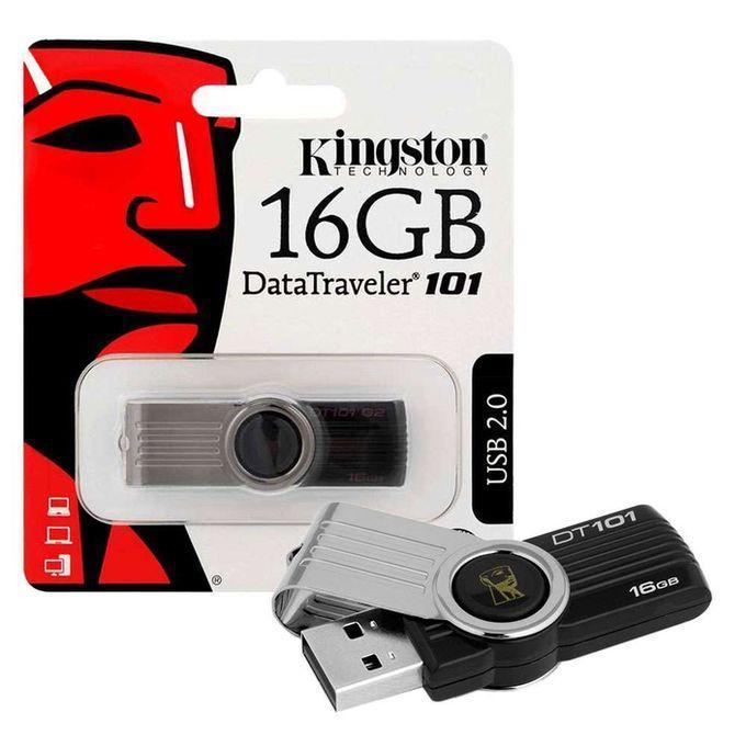 USB Kingston 16GB DT101 G2 2.0 có NTFS – ĐỦ DUNG LƯỢNG CHUẨN HÃNG