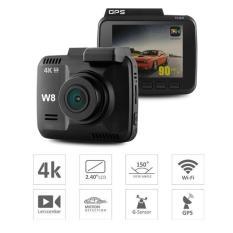 Camera hành trình W8 Carcam Wifi GPS 4K kèm thẻ 32GB class 10
