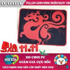 Miếng Lót Chuột Siêu Bền Cho GAME thủ Dày 2Ly 32×24.5 Bo Viền