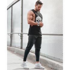 ÁO THUN BA LỖ đầu lâu chuẩn gym