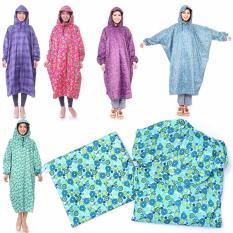 Áo mưa vải dù họa tiết siêu bền