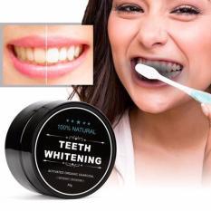 Bột tẩy trắng răng than hoạt tính teeth whitening cao cấp