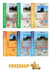 COMBO 6 quyển Giáo Trình Hán Ngữ ( Phiên bản mới – Tiếng Trung – Tiếng Việt – Tiếng Anh ) + Tặng Tài Liệu