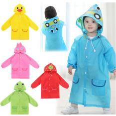 Áo mưa trẻ em ngộ nghĩnh đáng yêu( màu bé trai)