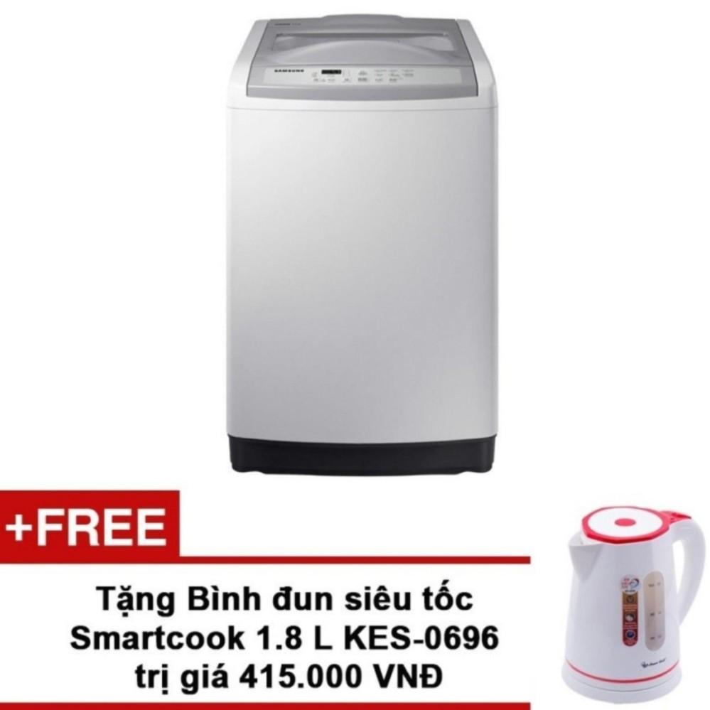 Máy Giặt Cửa Trên Samsung WA90M5120SG/SV 9kg + Tặng Bình đun siêu tốc Smartcook 1.8 L KES-0696 trị giá