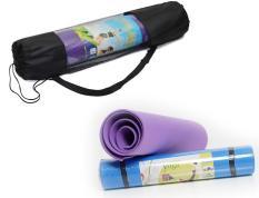 Thảm tập Yoga loại dày kèm túi đựng HD HDM105