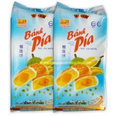 Combo 2 Gói Bánh Pía Đậu Sầu Riêng 5 Sao Tân Huê Viên