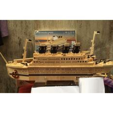 Đồ chơi lắp ráp gỗ 3D Mô hình tàu Titanic