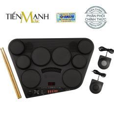 Bộ Trống điện tử Yamaha DD-75 – Hãng phân phối chính thức (Electronic Portable Digital Drum DD75 – Có tem chống hàng giả Bộ CA – Kèm Nguồn, Dùi Trống, Pedal)