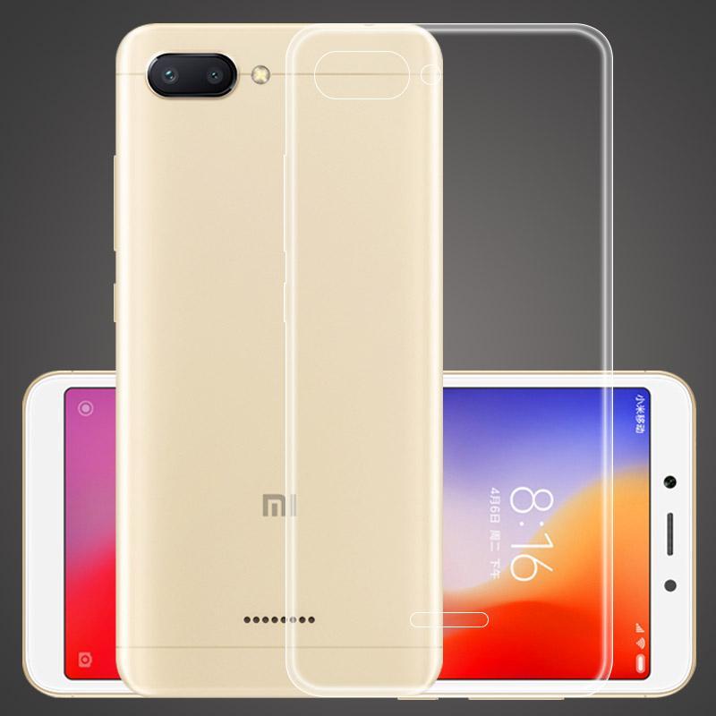 So sánh giá Ốp lưng dẻo Silicon trong suốt + Kính cường lực cho Xiaomi Redmi 6A Tại Congngheso Store