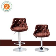 Ghế make up điều chỉnh cao 30-50 cm màu nâu Ghế Trang Điểm  Ghế Bar Ghế Trang Điểm Giá Rẻ Ghế Trang Điểm Nhà Xuân