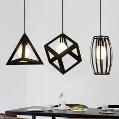 COMBO Bộ 3 đèn thả khối sơn tĩnh điện kèm 3 bóng LED chuyên dụng