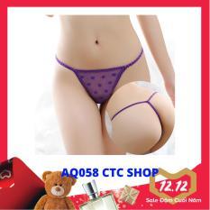 Quần Lót Nữ Lọt Khe, Sexy Gợi Cảm, Co Giản Tốt, Nhiều Màu – AQ058 (CTC SHOP)