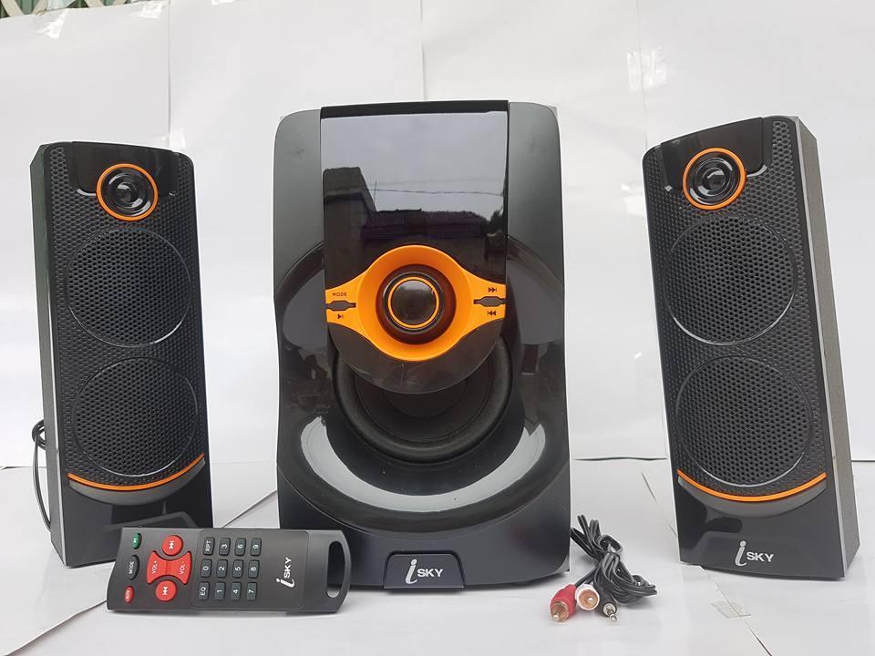 Dàn Loa Vi Tính 2.1 có Bluetooth I – SKY SK 215