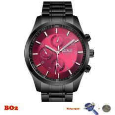 Đồng hồ nam BOSCK dây thép cao cấp BO1-2