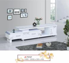 Kệ tivi mặt kính Tủ tivi mặt kính Mina Furniture MN-TV127-20 (1600-2000)*350*450