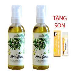 BỘ ĐÔI Dầu Olive (oliu) Cocoon 100% nguyên chất (100ml)