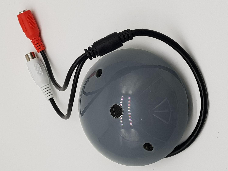 Micro thu âm cho hệ thống camera dạng nấm